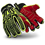 HexArmor Rig Lizard 2021 Firm Grip Impact Work Gloves, Medium