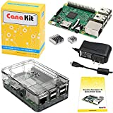CanaKit Raspberry Pi 3 Kit with Premium Clear Case and 2.5A Power Supply (UL Listed)