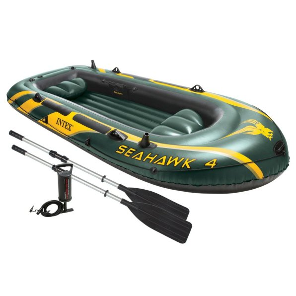 Intex Seahawk 4, 4-Person Inflatable Boat