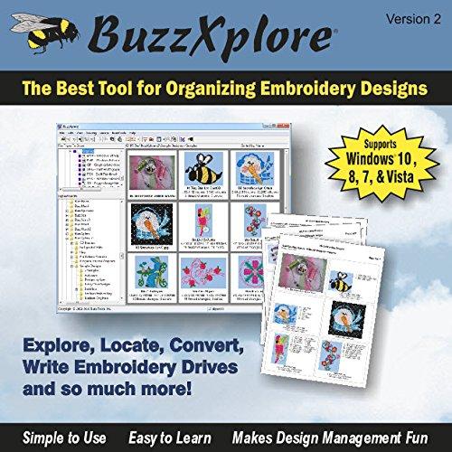 BuzzXplore v2 Premier Embroidery Design Management