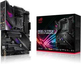 ASUS ROG Strix X570-E Gaming ATX Motherboard- PCIe 4.0, Aura Sync RGB Lighting