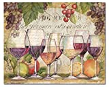CounterArt 'Wine Country' Glass Cutting Board, 15 x 12' (23116)
