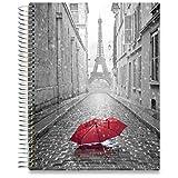 Tools4Wisdom June 2019 - June 2020 Planner 8.5 x 11 Hardcover - Daily Organizer - Academic Year Calendar - Paris Cover