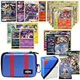 Totem World Pokemon Cards GX Lot with Great Ball Theme Carrying Case! Includes 1 GX Card Guaranteed, 2 Booster Pack, 5 Rares, 5 Holos, 20 Regular Pokemon Cards, and Deck Box