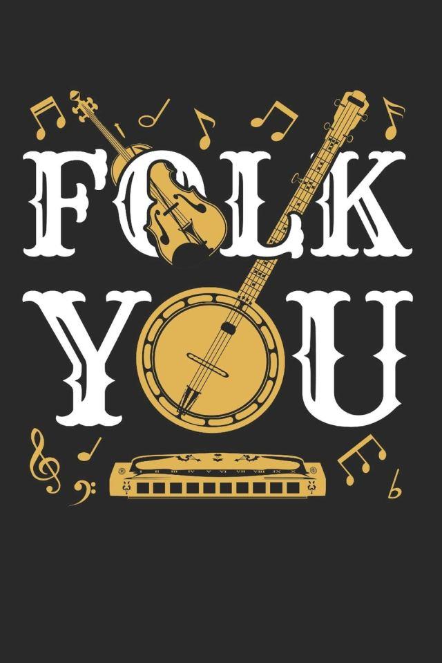Amazon.in: Buy Folk You: Folk Music Journal, Blank Paperback