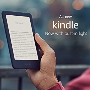 "All-New Kindle (10th Gen), 6"" Display now with Built-in Light, Wi-Fi (Black)"