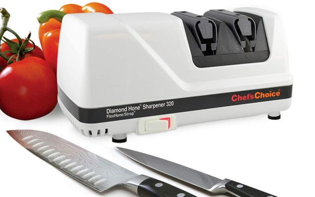 Chef'sChoice 320 Diamond Hone Professional Compact Electric Knife Sharpener