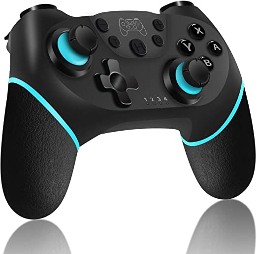 Wireless Pro Controller for Switch, ASTARRY Wireless Gamepad with Gyro Axis (Turbo Buttons) Compatible with Nintendo Switch