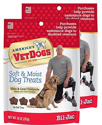 Bil-Jac VetDogs Skin & Coat Soft Treats 1