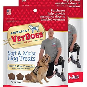 Bil-Jac VetDogs Skin & Coat Soft Treats