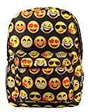 New Design Backpack Cute Backpack Kids School Backpack With Emoji Black Big Face