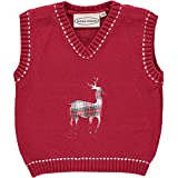 Product review for Baby Boy's Christmas Vest - Red Reindeer
