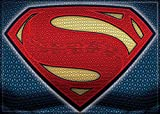 "Ata-Boy Batman v Superman Dawn of Justice Superman Logo 2.5"" x 3.5"" Magnet for Refrigerators and Lockers"
