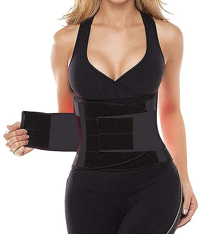 fe9704e9e0  5 SHAPERX Waist Trainer Belt Body Shaper Belly Wrap – Best tummy control  long torso waist trainer