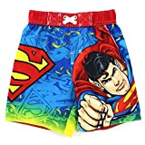 Superman Toddler Red Swim Trunks Swimwear (2T)
