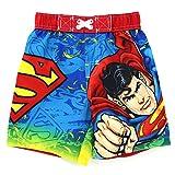 DC Comics Superman Toddler Red Swim Trunks Swimwear (2T)