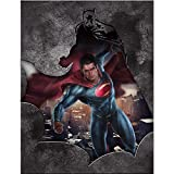 "Westland Giftware Batman vs. Superman Canvas Wall Art, 12"" x 16"""