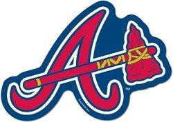 Wincraft MLB Atlanta Braves Logo on the GoGo, Sports Collectibles ...