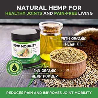 PetHonesty-Hemp-Hip-Joint-Supplement-for-Dogs-wHemp-Oil-Hemp-Powder-Glucosamine-Chondroitin-for-Dogs-wTurmeric-MSM-Green-Lipped-Mussel-Dog-Treats-Improve-Mobility-Reduces-Discomfort