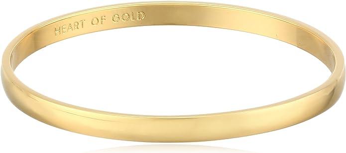 Heart of Gold Kate Spade Bangle Bracelet