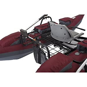 Classic Accessories Oswego Inflatable boat back view