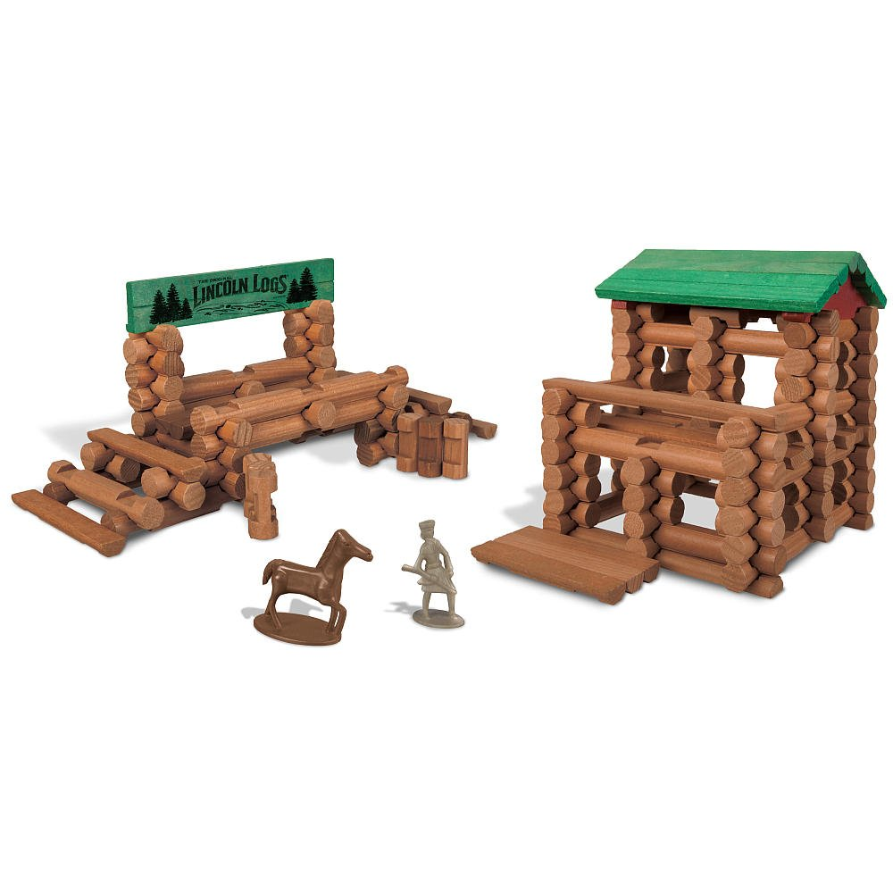 Lincoln Logs Colts Creek Command Post (170-Pieces)