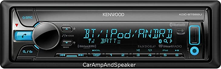 Kenwood KDC-BT562U Single Din Bluetooth Car Stereo