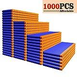 AMOSTING Refill Darts 1000PCS Ammo Bulk Bullets Pack for Nerf N-Strike Elite Series - Blue