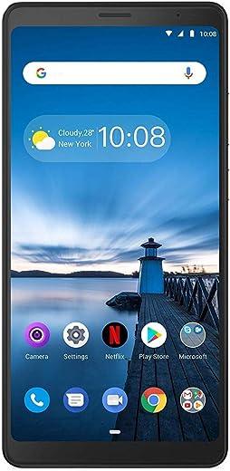 Lenovo Tab V7 Tablet (6.9 inch, 32GB, Wi-Fi + 4G Voice Calling), Onyx Black
