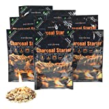 Instafire Charcoal Briquette Fire Starter Pouches for Grills, Smokers, More - Chemical Free, Awarded 2011 Innovative Product of The Year,8 Pk