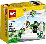 Lego LEGO 40165 Wedding Favor Set wedding celebration set wedding bride and groom celebration set 89 piece [parallel import goods]