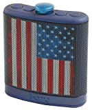 iHome Rechargeable Flask Shaped Bluetooth 4-Speaker System with Speakerphone, USB Charging (iBT32BSC)