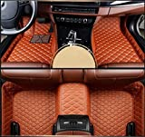 Kanredi Custom Fit Luxury XPE Leather Full car Floor Mats Waterproof for BMW 7Series Full Series (Single Layer, for BMW 7S - Brown)