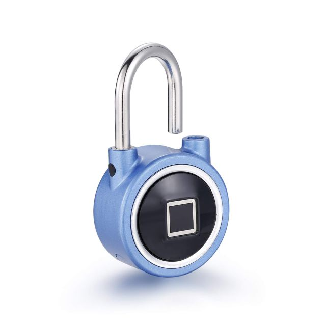 Waterproof Bluetooth Metal Fingerprint Padlock