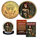 Dynamite Red Sonja Lucio Parrillo Collectible Coin