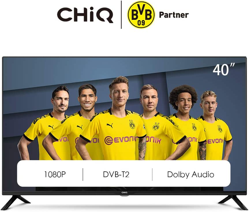 "CHiQ L40G4500 40"" Full HD LED LCD TV,40 Pouces (101cm), titple tunner (DVBT / T2 / C / S2), Lecteur Multimédia Via Port USB Téléviseur,Dolby Audio,3 HDMI, 2 USB, Direct LED, [Energy Class A]"