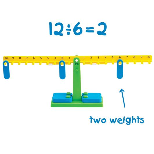 math balance with weights math manipulative for high school