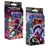 Pokemon Both XY Steam Siege 60-Card Theme Decks - Gears of Fire & Ring of Lightning!