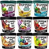 Umpqua Oats Oatmeal Super Premium Sampler Variety Flavor Pack Gluten Free 2.57 Ounce Meals (9-Count)
