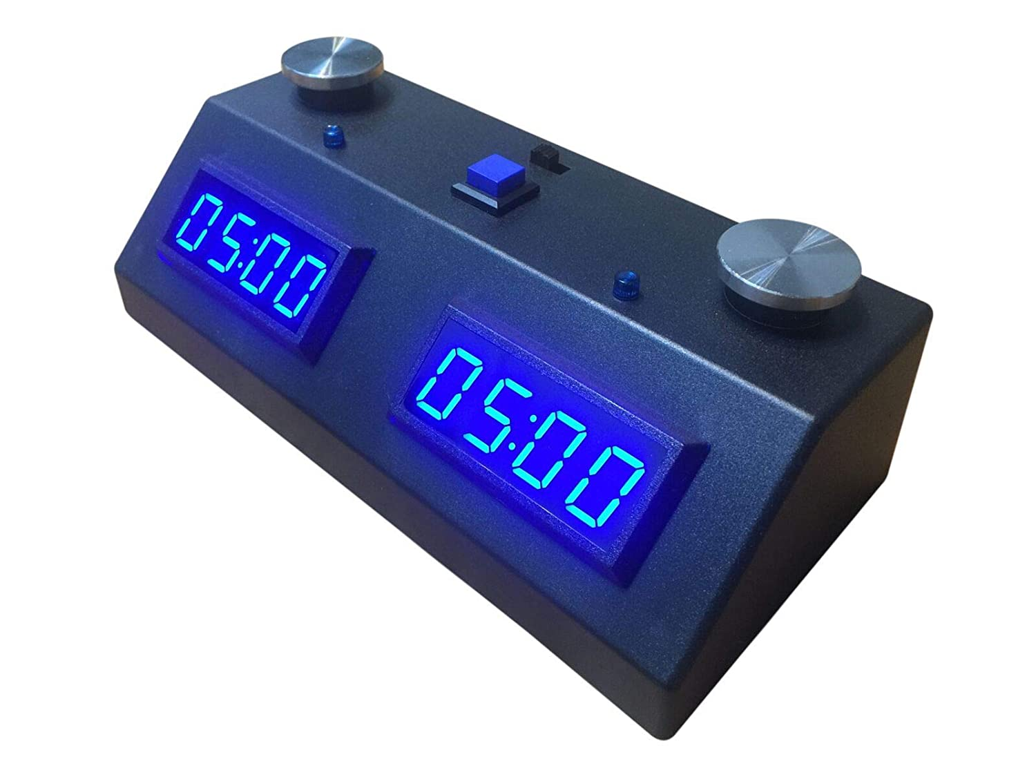 ZMF-II Chess Clock - Black with Green LED
