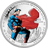 2013 CA Superman: Man of Steel - Silver 1 oz. Proof Coin - Canada RCM - with all OGP and COA $20 Superb Gem Uncirculated
