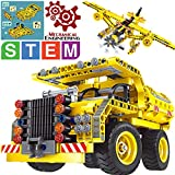 GILI Building Toys Gifts for Boys & Girls Age 6yr-12yr, Construction Engineering Kits for 7, 8, 9, 10 Year Old, Educational STEM Learning Sets for Kids