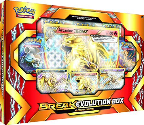 Pokémon Cards POK17BEARCABX TCG: Break Evolution Box Featuring Arcanine