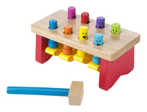 Melissa & Doug Deluxe Pounding Bench Wooden Toy With Mallet Review