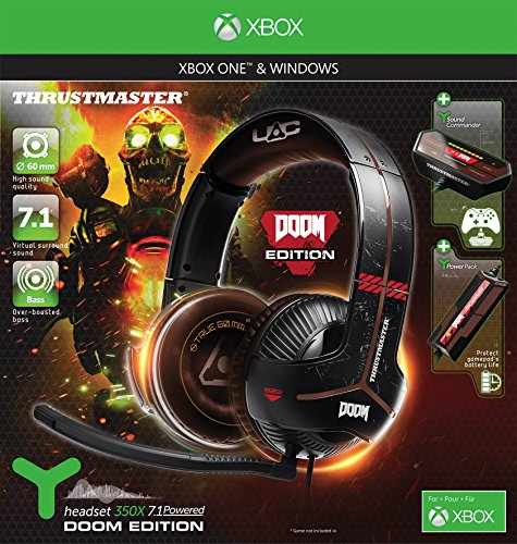61RFODqVw0L - Thrustmaster Y-350X 7.1 Powered Doom Edition Gaming Headset (Xbox One/PC DVD)