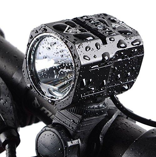 Nestling USB Rechargeable LED Bike Light Set , 1200 Lumen Bicycle Headlight Cree XM-L2 LED Waterproof Bike Front Light Handheld Flashlight