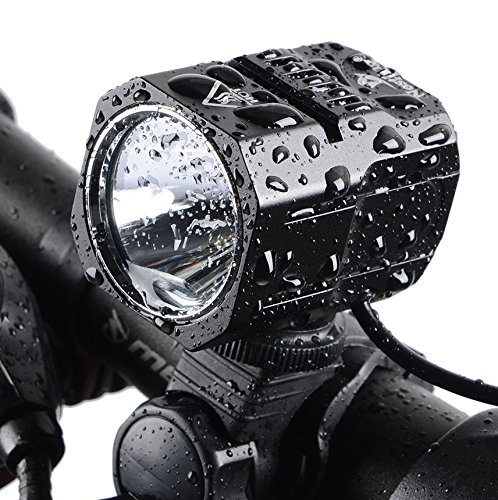 Nestling USB Rechargeable LED Bike Light Set , 1200 Lumen Bicycle Headlight Cree XM-L2 LED Waterproof Bike Front Light Handheld Flashlight