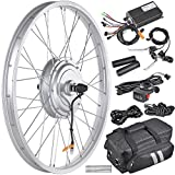 AW 20.5' Electric Bicycle Front Wheel Frame Kit for 24' 36V 750W 1.95'-2.5' Tire E-Bike