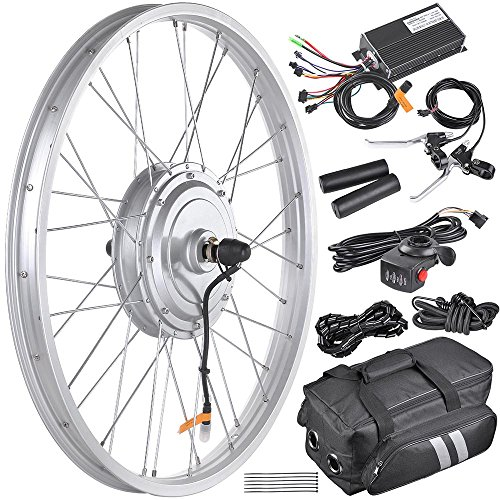 "AW 20.5"" Electric Bicycle Front Wheel Frame Kit For 24"" 36V 750W 1.95""-2.5"" Tire E-Bike"
