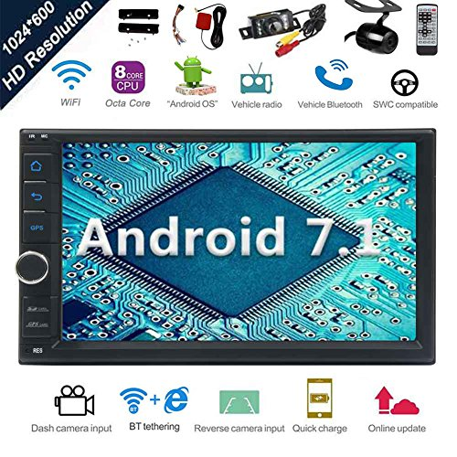 Android 7.1 32GB 2GB Car Stereo Radio...